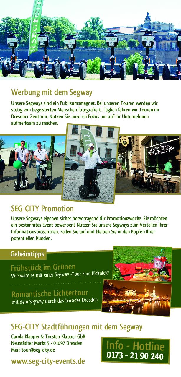Segway Event Dresden